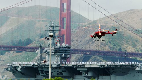 Shutterbugs, not spies, tip North Korea to presence of U.S. carrier