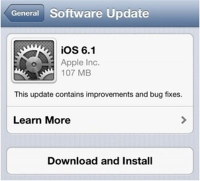 Apple's iOS software embraced by users