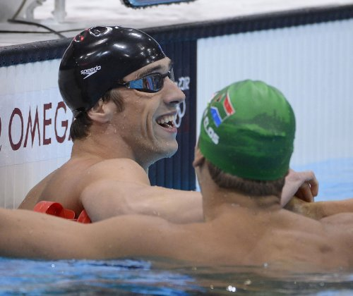Phelps wins final individual Olympic race