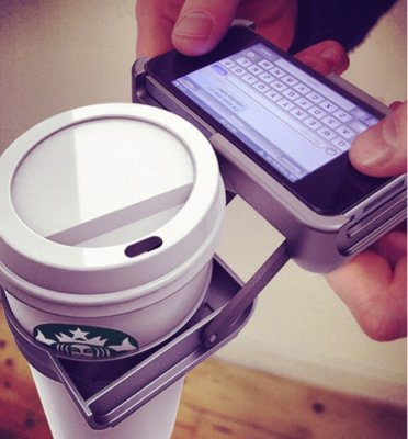 Dutch firm envisions iPhone cup holder