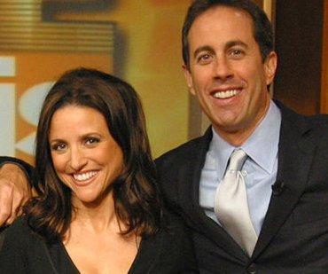 Jerry Seinfeld, Julia Louis-Dreyfus reunite on 'Comedians in Cars Getting Coffee'