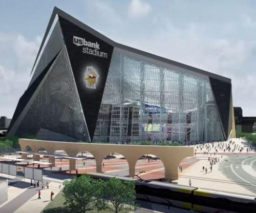 Construction halted on new Vikings stadium after worker falls off roof, dies