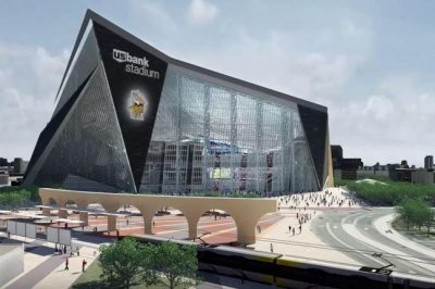 Construction Halted On New Vikings Stadium After Worker Dies   UPI.com