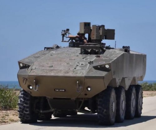 Israel unveils Eitan armored personnel carrier