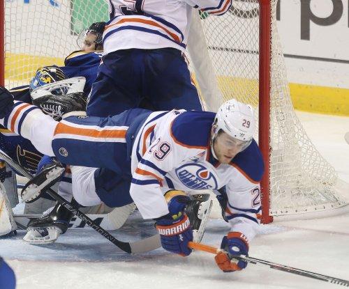 Edmonton Oilers beat Anaheim Ducks on Leon Draisaitl's overtime goal