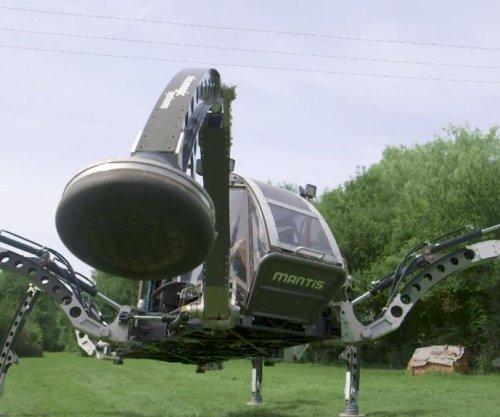 Guinness dubs six-legged walking robot the world's largest