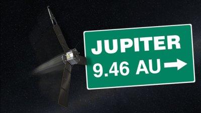 NASA spacecraft on journey to Jupiter hits halfway point