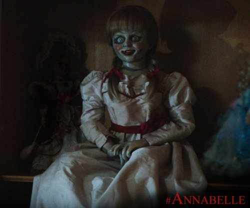 'Annabelle' edges 'Gone Girl' in Friday box office