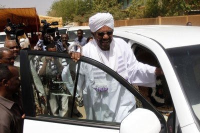 Sudan's president prevented from leaving South Africa over ICC charges