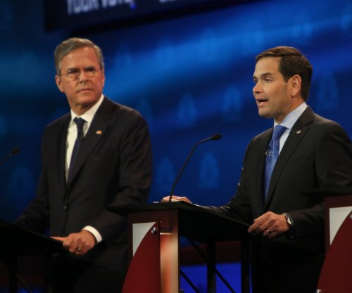 Republican presidential debate pits Rubio and Bush against each other