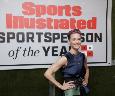 U.S. soccer star Megan Rapinoe named Sports Illustrated's Sportsperson of the Year