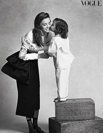 Miranda Kerr's son makes modeling debut in Vogue Australia spread