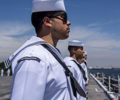 Aircraft carrier USS Ronald Reagan deploys to Indo-Pacific region