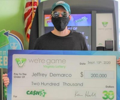 Man wins two $100,000 jackpots from same lottery drawing