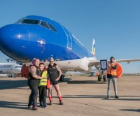 Two Welsh women pull Airbus A320 to break Guinness World Record