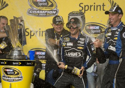 Jimmie Johnson earns sixth Sprint Cup championship