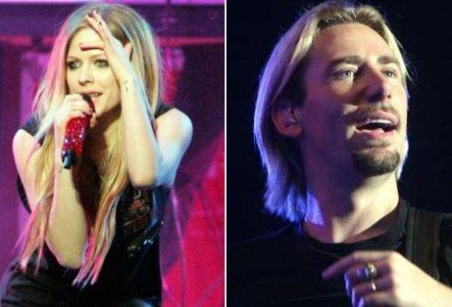 Canadian Rockers Lavigne, Kroeger engaged