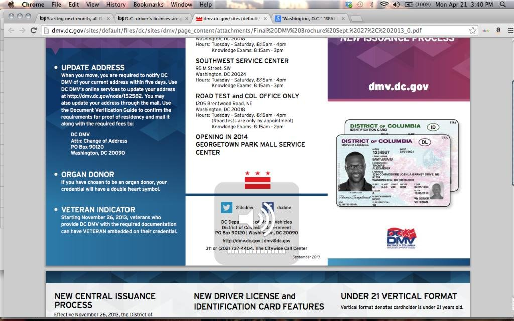 Washington dc switches to real id all drivers licenses replaced washington dc switches to real id all drivers licenses replaced by oct 1 upi altavistaventures Gallery