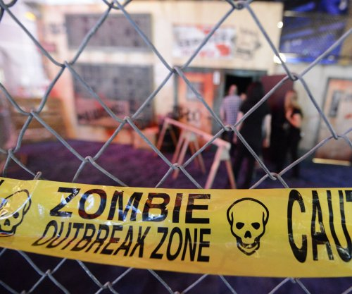 Researchers say zombie epidemic would spread like wildfire
