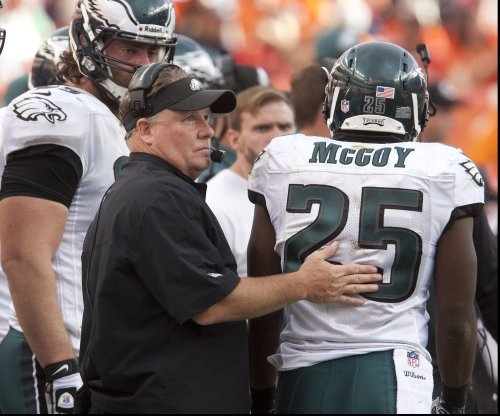 Philadelphia Eagles' Chip Kelly, Buffalo Bills' LeSean McCoy won't be shaking hands