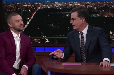 Justin Timberlake jokes about 'SexyBack' origins on Colbert's 'Late Show'