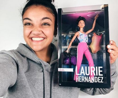 Barbie honors Olympic gymnast Laurie Hernandez with doll