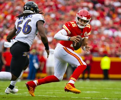 Kansas City Chiefs QB Patrick Mahomes returns to practice after knee injury