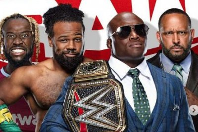 WWE Raw: The New Day battle Bobby Lashley and MVP