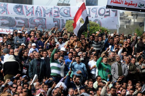 Imam tells Egypt protesters to press on