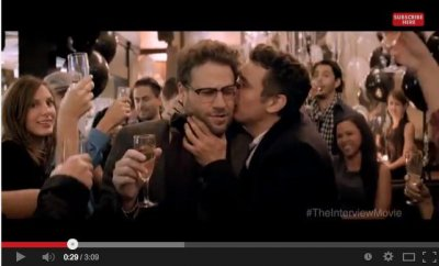 Seth Rogen, James Franco star in red-band 'Interview' trailer