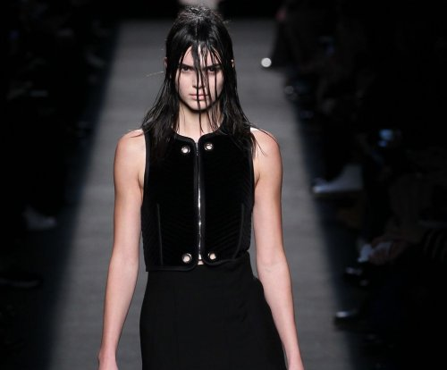 Kendall Jenner rocks the runway for Valentine's Day