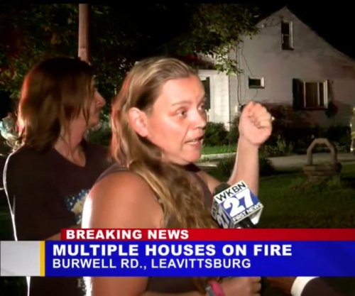 Ohio woman: Fire started by romantically jealous cousin