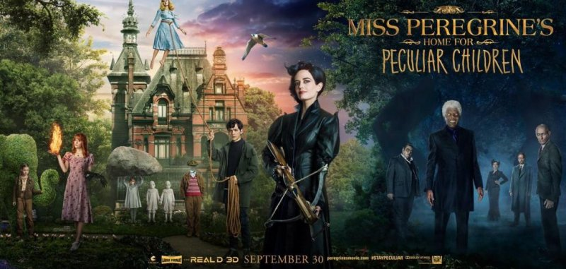 New posters show off 'Miss Peregrine's Home for Peculiar