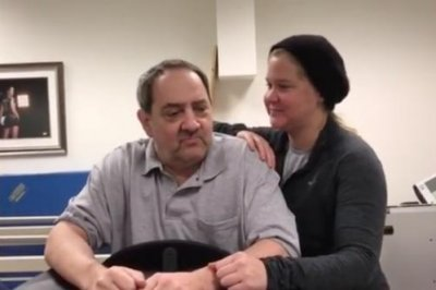 Amy Schumer's dad stands with 'help' after years in wheelchair