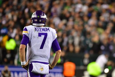 Vikings' Keenum: Family received 'tough' treatment in Philly