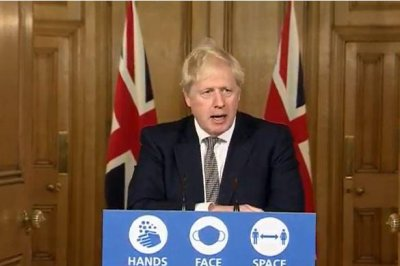 British PM Boris Johnson announces new COVID-19 lockdown