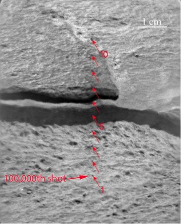 Mars rover Curiosity logs 100,000th 'zap' of martian rocks for science