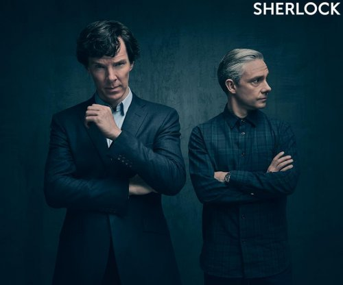 'Sherlock': Benedict Cumberbatch, Martin Freeman brood in Season 4 photo