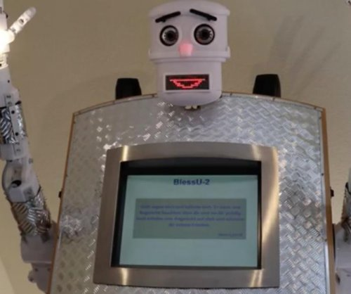 'BlessU-2' robot priest delivers blessings in five different languages