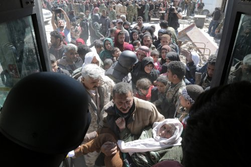 Hundreds of Syrian rebels evacuate besieged Eastern Ghouta