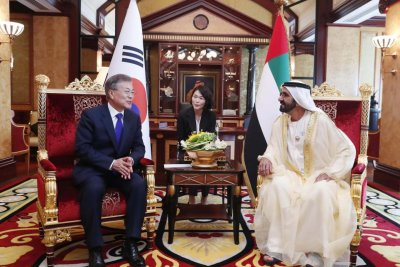 Reports: South Korea, UAE sign $25 billion in energy deals