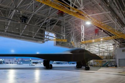 Air Force testing prototype shelters for B-21 Raider
