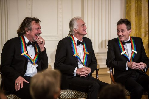 Obama lauds Kennedy Center honorees