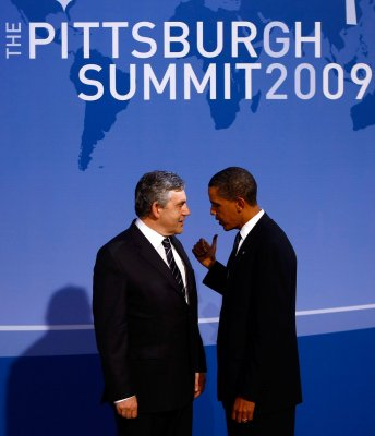 Obama, Brown discuss Afghanistan