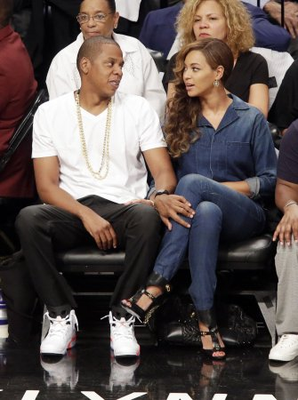 Jay Z, Beyonce take in Nets-Heat game after Solange fight video leaks [PHOTOS]