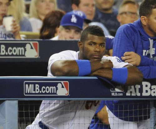 Why the Los Angeles Dodgers are benching Yasiel Puig