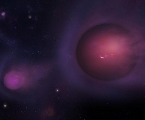 The Milky Way's black hole is hurling giant 'spitballs'