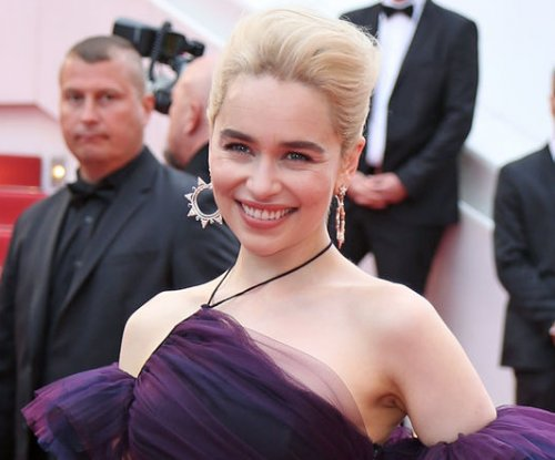 Emilia Clarke says auction with Brad Pitt was the 'best night'