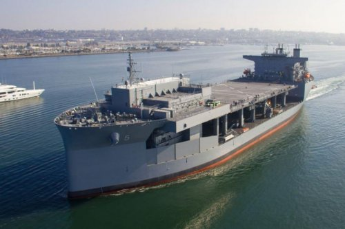 Expeditionary sea base USNS Miguel Keith completes acceptance trials