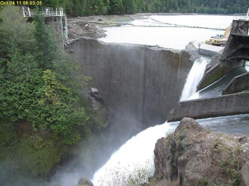 Washington State's Elwha River flows free once again